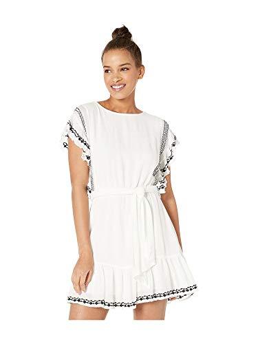 Free People Weekend Brunch Dress Ivory MD (Women's 8-10)