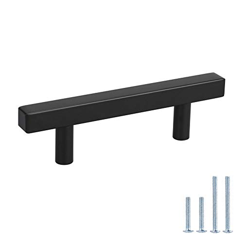 Peaha Black Cabinet Pulls 3 inch Black Drawer Pulls 15 Pack - PHJ22BK Black Cabinet Handles Bar Pulls for Cabinets Black Cabinet Hardware Kitchen Pulls for Cabinets Black