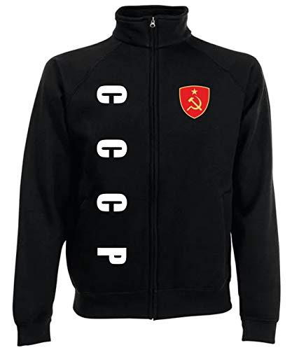Aprom-Sports CCCP Sowjetunion Russland Jacke Zip Sweater SPA SC (XL)