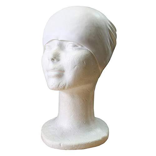 Softee Equipment Bonnet de Bain en Silicone Blanc Taille Unique