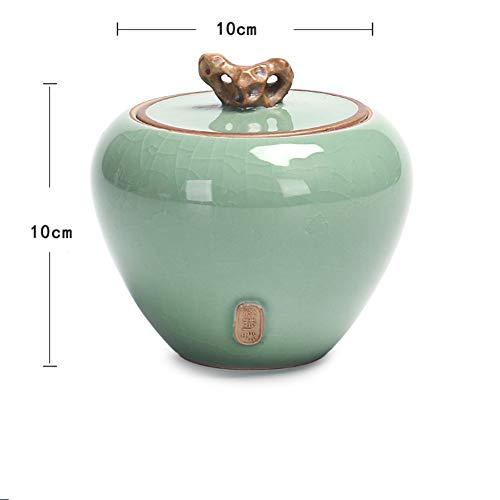 紅茶にすることができます, セラミックティーポット, Pu'er 紅茶 シール 紅茶ポット, ティーポットをウェイクアップ, セラミックス ティー キャディー