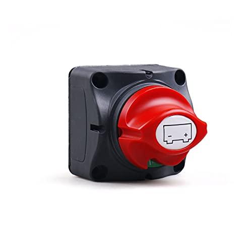 XIAOQIN BOMY Ajuste para 12V-60V 100A-300A Auto RV Auto RV Selector de batería Selector de batería Desconecte el Interruptor Giratorio Corte