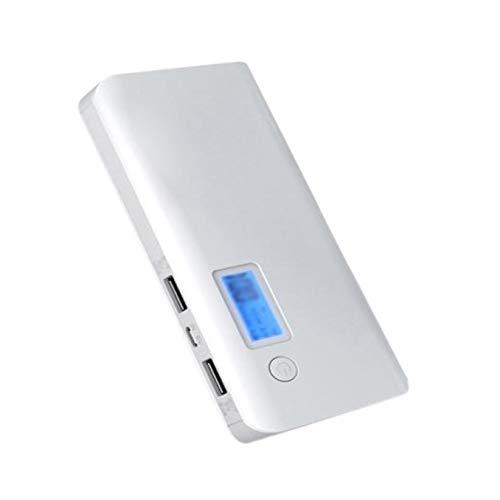 SODIAL 50000Mah Cargador de Batería de Reserva del Banco de la Alimentación Externa Portátil para el Teléfono Móvil Ga Blanco