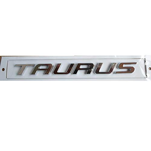 OceanAutos Für Ford Taurus, Taurus Chrom ABS Kofferraum Hecknummer Buchstaben Abzeichen Emblem Aufkleber Aufkleber