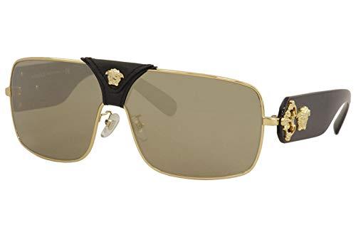 Ray-Ban Unisex-Erwachsene 0VE2207Q Sonnenbrille, Weiß (Gold), 40.0