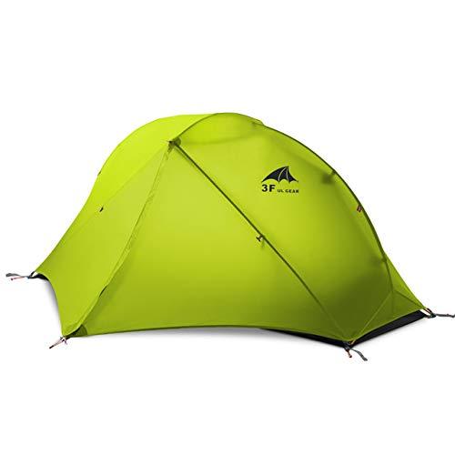 LIYUJIA 2020 3F UL Oudoor Ultralight Camping Tent 3/4 Season 1 Single Person Professional 15D Nylon Silicon Tent Barracas Para Camping|Tents| - AliExpress