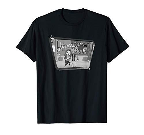 Marvel WandaVision Classic TV Camiseta