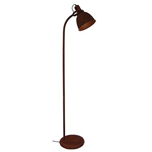 Brilliant Jesper staande lamp 22cm, 60W, roestkleuren