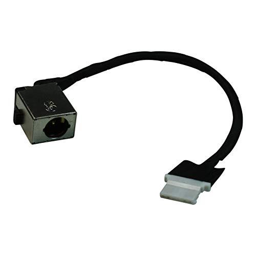 Power4Laptops Conector de alimentación portátil con Cable Compatible con Acer Aspire ES1-512-C3AH