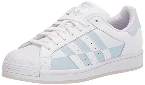 adidas Originals Superstar, Zapatillas Deportivas. para Hombre, Blanco Halo Blue Blanco, 47 1/3 EU