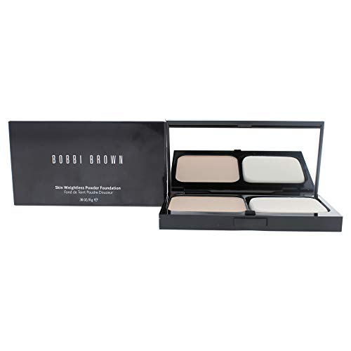 Bobbi Brown Skin Weightless Powder Foundation 1-25 Cool Ivory for Women, 0.38 Ounce