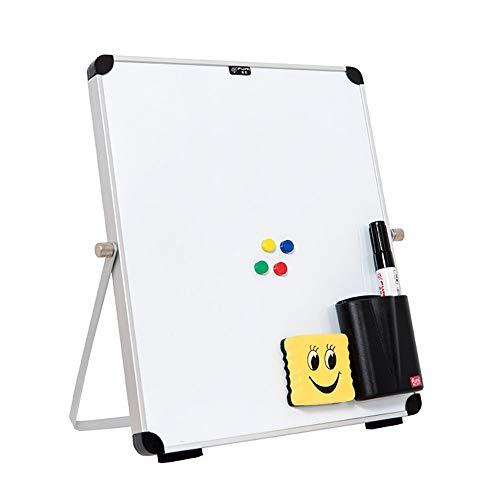 Schreiben Whiteboards for Kinder Home Office Dry Erase White Board for Schreibtisch, Magnetic Personal Desktop Dry...