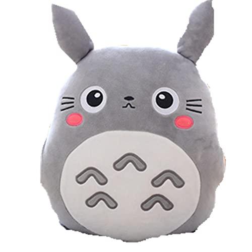 mingmi My Neighbor Totoro Almohada De Felpa Multifunción 3 En 1 Almohada De Tiro Totoro Mano Almohada Caliente Cojín Bebé Niños Manta De Peluche De Juguete