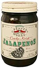 product image for Texas Pepper Works Krisp Jalapenos Candy, 12-Ounce (Pack of 3)