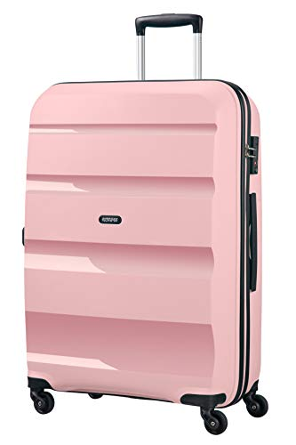 American Tourister Bon Air Spinner Suitcase, 75 cm, 91 liters, Pink (Cherry Blossoms)