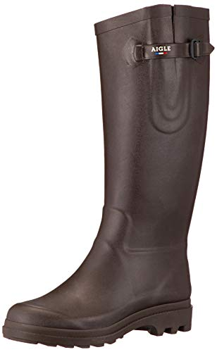 Aigle Damen Aiglentine Gummistiefel, New Brown, 37 EU