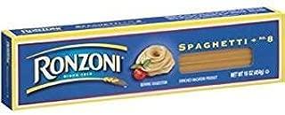Ronzoni Spaghetti Macaroni 16 Oz. Pack Of 3.