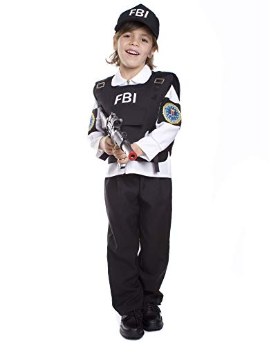 Dress Up America Fbi Agente Costume enfant