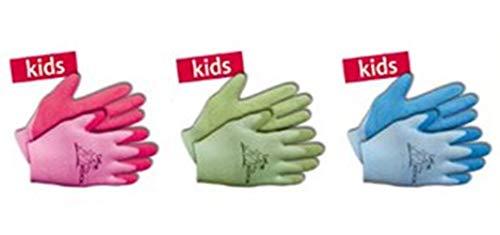 KIXX Nylon/Latex Handschuhe, Grün, 4