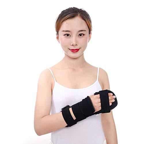 YLJYJ Masaje-AED Férula de dedo Noche Muñeca Pulgar Inmovilizador Soporte para Dolor Tendinitis Esguince Fractura Artritis Dislocación