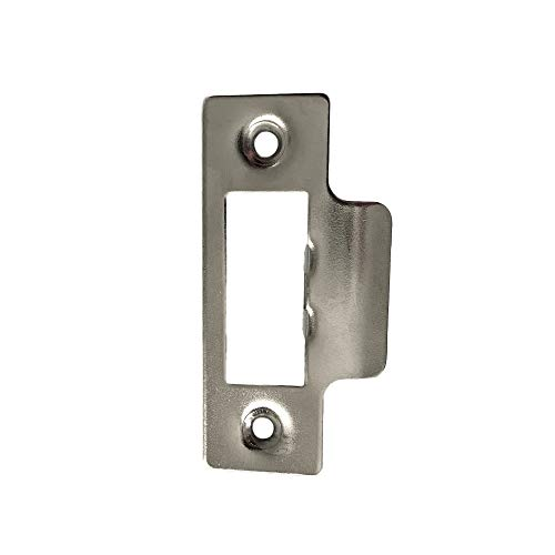 Short Strike Plate Mortice Latch x 1 - Satin Stainless Steel