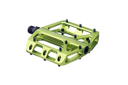 Sixpack Kamikaze 3.0 Alu Flat Fahrrad Pedal grün
