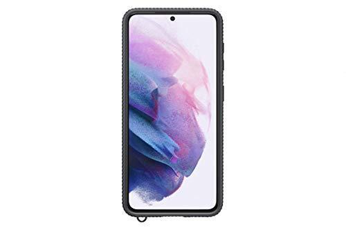 Preisvergleich Produktbild Samsung Clear Protective Cover EF-GG991 für Galaxy S21 5G,  Black
