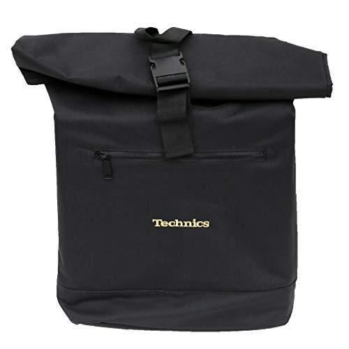 Technics Roll Top Backpack Rucksack 44 Centimeters Schwarz (Black)
