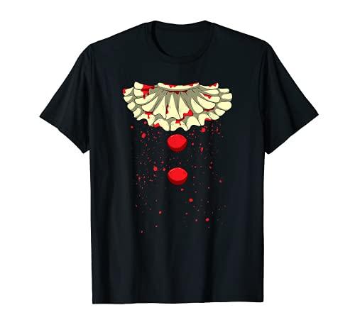 Clown Circus Asesino en serie, disfraz de Halloween sangriento Camiseta