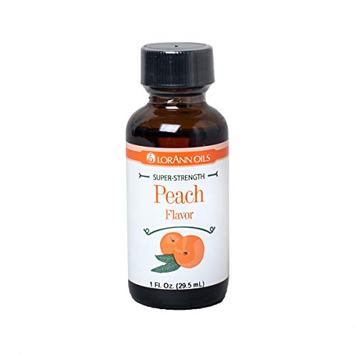 LorAnn Peach Super Strength Flavor, 1 ounce bottle