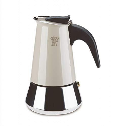 Pezzetti Steel Express ekspres do kawy, stal nierdzewna, beżowy