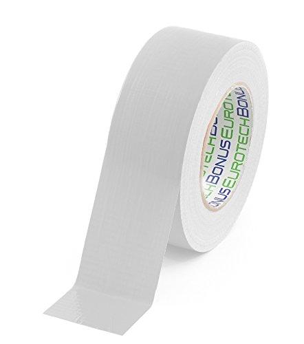 Bonus Eurotech 1BC12.54.0050/050A # Premium Duct Tape, lijm op natuurrubber basis, met PE gelamineerd weefsel, lengte 50 m x breedte 50 mm x dikte 0,25 mm, wit