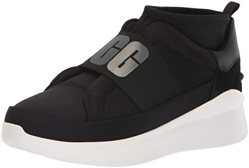 UGG Women's Neutra Sneaker Sneaker, Black, 5.5