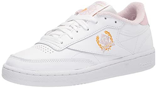 Reebok Women's Club C Sneaker, White/Frost Berry, 9