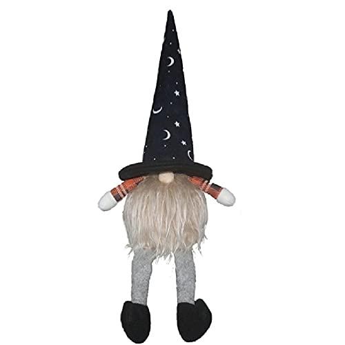 Enfeites de boneca de gnomo de perna longa para o dia das bruxas