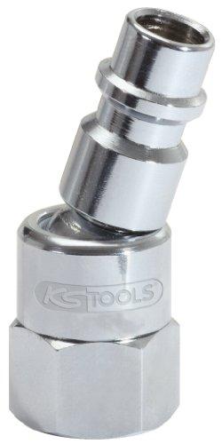 KS Tools 515.3394 1/4'' Metall-Kugelgelenk-Stecknippel, 46mm