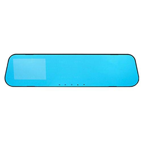 PETSOLA HD 1080P Lente Car Dash CAM Espejo Retrovisor Cámara Grabador de Video de Respaldo DVR