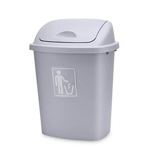 Cubos De Basura para El Hogar Amigables, Nuevos Centros De Conferencias De Contaminación Secundaria, Decoración Asombrosa, Cubo para Aulas, PP (Color: (Color: Grey, Size: 65L)