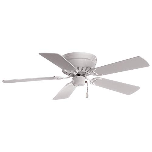 Minka-Aire F566-WH Mesa 42 Inch Flush Mount Low Profile Ceiling...