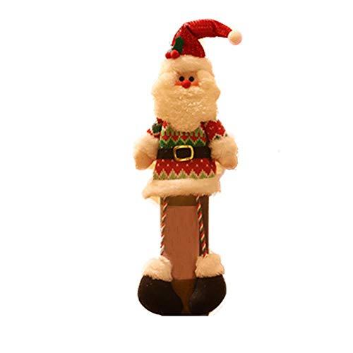 Noete 1 Stück 14 * 43cm Weihnachten Weinflaschen Taschen Geschenk Weinliebhaber für Partys/Tischdekoration/Geschenke für Familie Freunde.