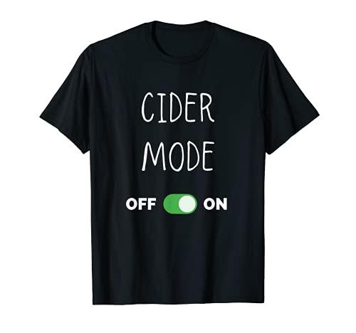 Modo de sidra en la cerveza de sidra Camiseta