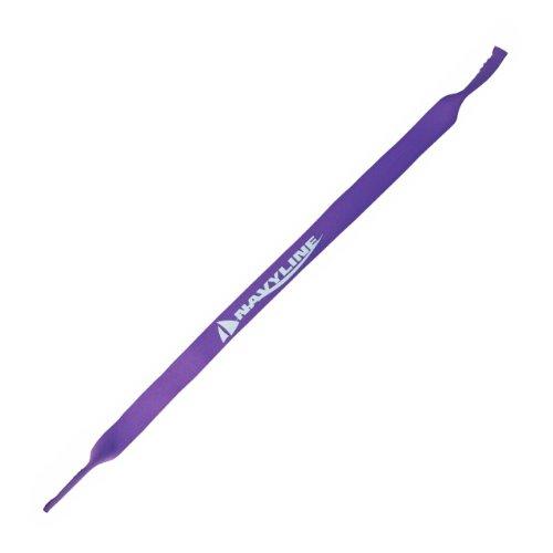 Navyline GmbH Cordon à lunettes en néoprène, Couleur:violet