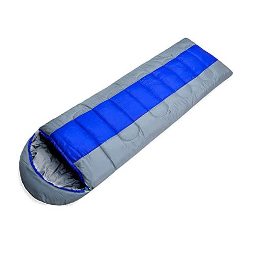 FACWAWF El Cómodo Saco De Dormir sobre Se Puede Empalmar, Acampar, Pescar, Picnic para Mantener El Saco De Dormir para Adultos Caliente Y Sucio. 215x75cm(1300g)
