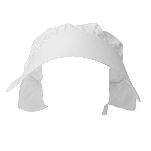 Chapeau bonnet victorien accessoire déguisement enfant costume blanc