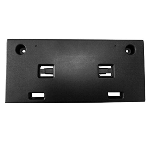 2018-2019 Hyundai Sonata Front License Plate Bracket; For Non-Turbo Models; Without Mounting Hardware; Made Of Pp Plastic Partslink HY1068110