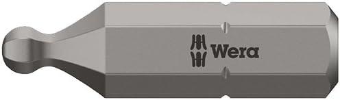 7//32 x 25 mm Silver Wera 05380109001 Z Bits with Ballhex 842//1-7//32x25mm