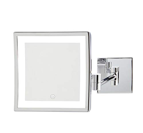 Jerdon JRT885CLD 8' X 8' Led Lighted Wall Mount Mirror, Direct Wire