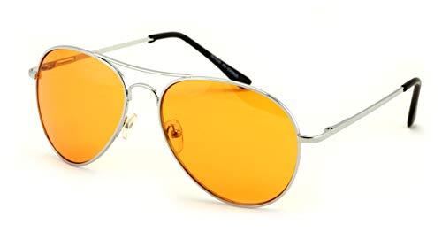 Vision World Eyewear - Colorful Silver Metal...