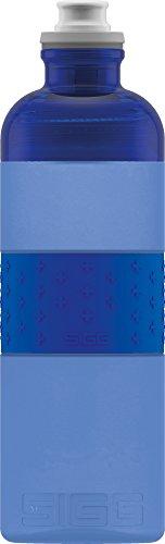 SIGG HERO Blue Gourde Étanche (0,6 L), Gourde en Plastique sans Produits Toxiques, Bouteille Sport Légère Fabriquée en Polypropylène