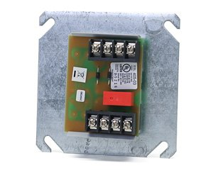 GE Security 405-03 Polarity Reversal Relay, 12VDC for Use w/2 or 4-Wire Smoke Detectors. 1 Circuit. Enables Any Control Panel to Trip All ESL Sounder